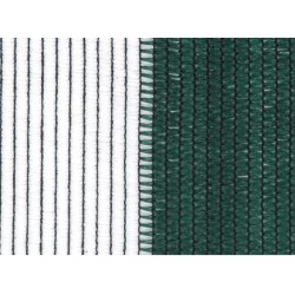 Засенчваща мрежа Frangisole Barree Бяло/Зелено