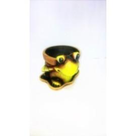 Декоративна кашпа Костенурка