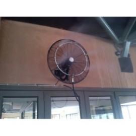 Комплекти за водна мъгла с 1 вентилатор 70 бара 5 дюзи