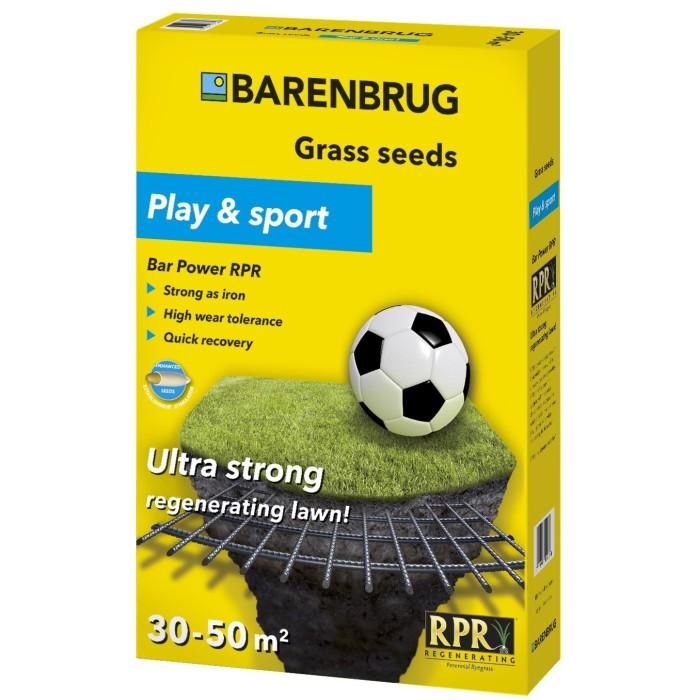 Тревна смес за градини и спортни терени Bar power RPR