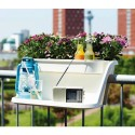Сандъче за парапет с масичка Corsica Flower Bridge Table